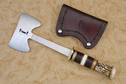 Double Bladed Scagel Style Hatchet