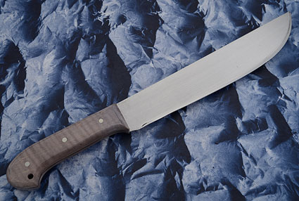 Machete with Fiddleback Maple (12 inch)