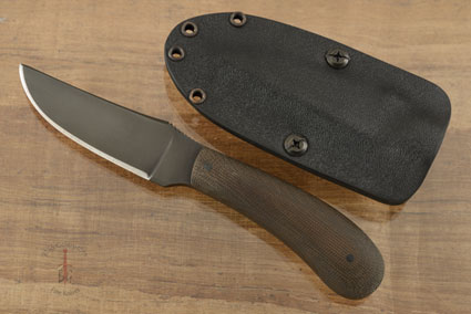 Standard Duty 1 (SD1) with Green Micarta and Caswell Finish