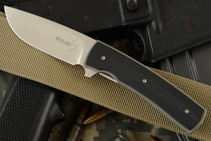 Boker Plus FR Flipper with Black G10 - IKBS (01BO742)